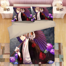 Load image into Gallery viewer, Natsume's Book of Friends #5 Duvet Cover Quilt Cover Pillowcase Bedding Set Bed Linen Home Decor