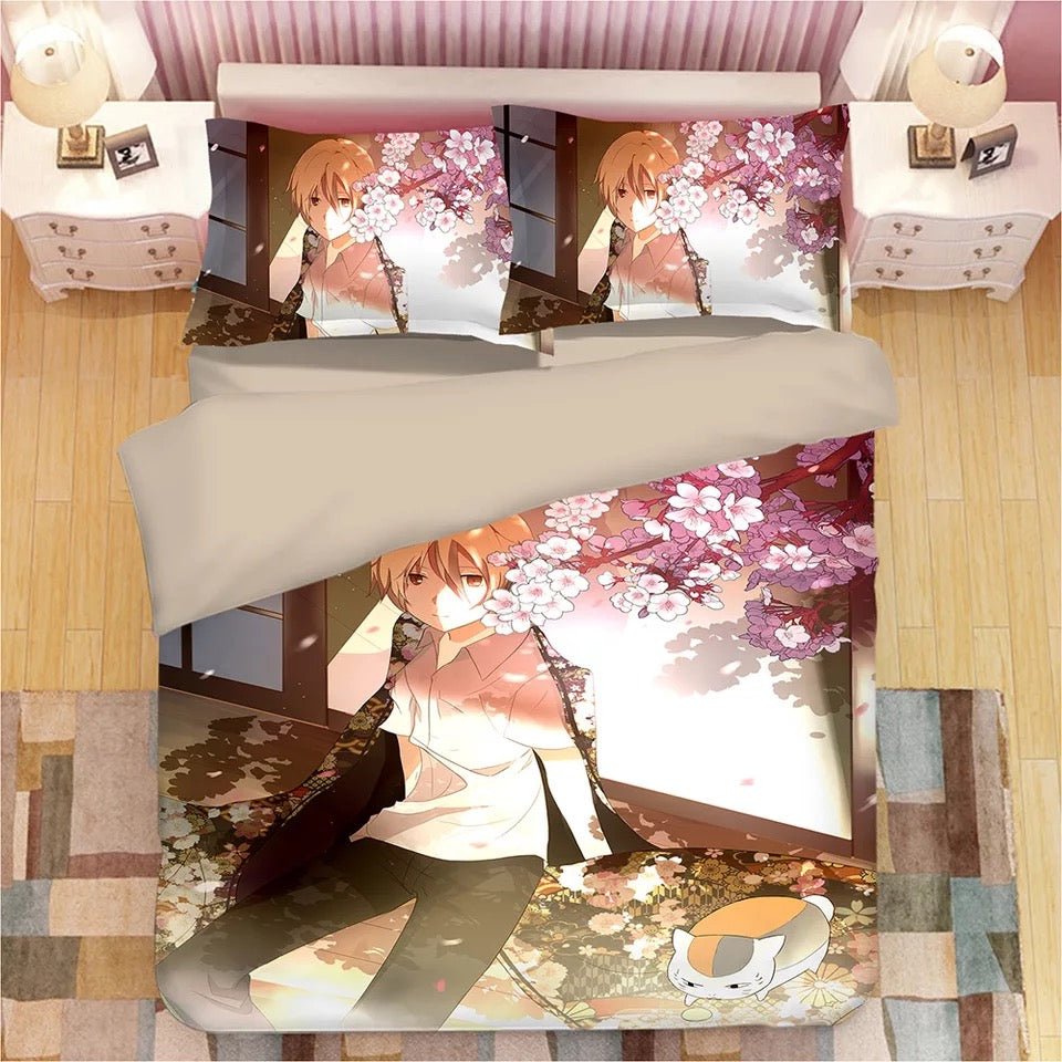 Natsume's Book of Friends #6 Duvet Cover Quilt Cover Pillowcase Bedding Set Bed Linen Home Decor
