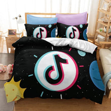 Load image into Gallery viewer, Tik Tok #5 Duvet Cover Quilt Cover Pillowcase Bedding Set Bed Linen Home Bedroom Decor