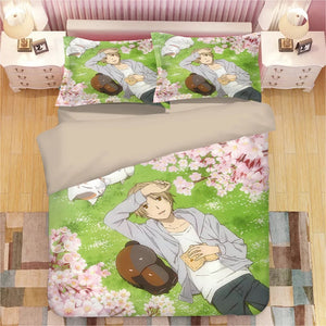 Natsume's Book of Friends #15 Duvet Cover Quilt Cover Pillowcase Bedding Set Bed Linen Home Bedroom Decor