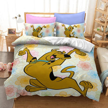 Load image into Gallery viewer, Scooby Doo #6 Duvet Cover Quilt Cover Pillowcase Bedding Set Bed Linen Home Bedroom Decor