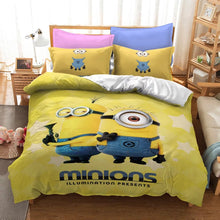 Load image into Gallery viewer, Despicable Me Minions #13 Duvet Cover Quilt Cover Pillowcase Bedding Set Bed Linen Home Decor