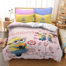 Load image into Gallery viewer, Despicable Me Minions #18 Duvet Cover Quilt Cover Pillowcase Bedding Set Bed Linen Home Decor