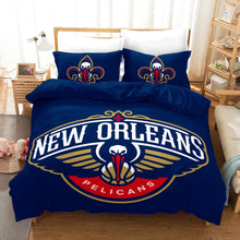 Load image into Gallery viewer, Basketball New Orleans Basketball #5 Duvet Cover Quilt Cover Pillowcase Bedding Set Bed Linen Home Decor