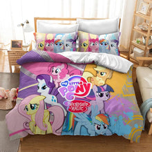 Load image into Gallery viewer, My Little Pony #27 Duvet Cover Quilt Cover Pillowcase Bedding Set Bed Linen Home Decor