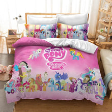 Load image into Gallery viewer, My Little Pony #29 Duvet Cover Quilt Cover Pillowcase Bedding Set Bed Linen Home Decor