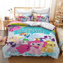 Load image into Gallery viewer, My Little Pony #31 Duvet Cover Quilt Cover Pillowcase Bedding Set Bed Linen Home Decor