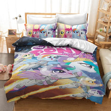 Load image into Gallery viewer, My Little Pony #34 Duvet Cover Quilt Cover Pillowcase Bedding Set Bed Linen Home Decor