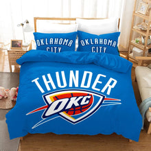 Load image into Gallery viewer, Basketball Oklahoma City Thunder Basketball #12 Duvet Cover Quilt Cover Pillowcase Bedding Set Bed Linen Home Bedroom Decor