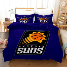Load image into Gallery viewer, Basketball Phoenix Suns Basketball #20 Duvet Cover Quilt Cover Pillowcase Bedding Set Bed Linen Home Bedroom Decor