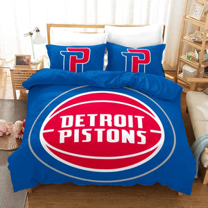 Basketball Detroit Pistons Basketball #22 Duvet Cover Quilt Cover Pillowcase Bedding Set Bed Linen Home Bedroom Decor