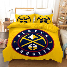 Load image into Gallery viewer, Basketball Denver Nuggets Basketball #23 Duvet Cover Quilt Cover Pillowcase Bedding Set Bed Linen Home Bedroom Decor