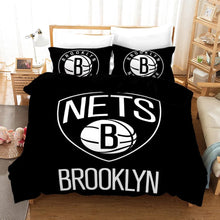 Load image into Gallery viewer, Basketball Brooklyn Nets Basketball #25 Duvet Cover Quilt Cover Pillowcase Bedding Set Bed Linen Home Bedroom Decor