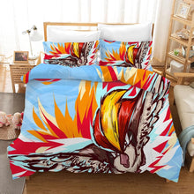 Load image into Gallery viewer, Pokemon Pikachu Brave Bird #14 Duvet Cover Quilt Cover Pillowcase Bedding Set Bed Linen Home Bedroom Decor