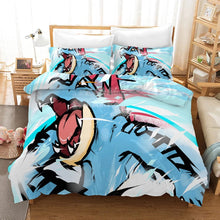 Load image into Gallery viewer, Pokemon Pikachu #31 Duvet Cover Quilt Cover Pillowcase Bedding Set Bed Linen Home Bedroom Decor