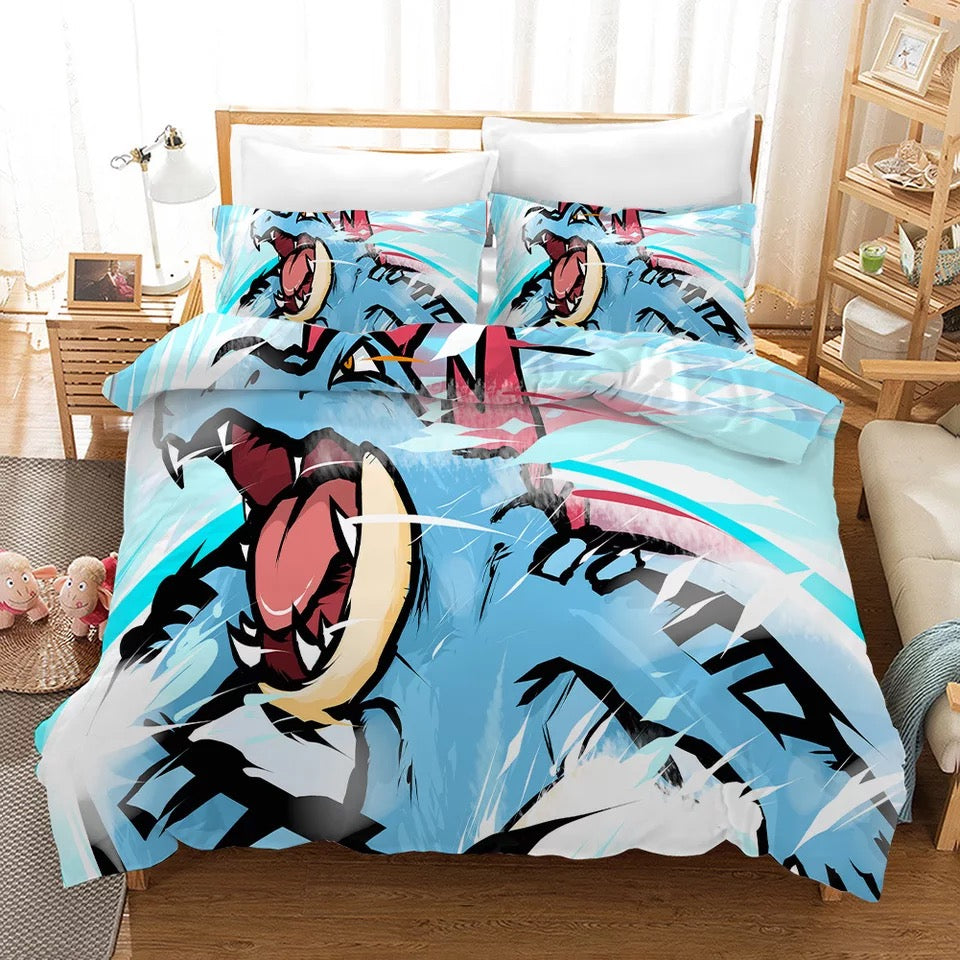Pokemon Pikachu #31 Duvet Cover Quilt Cover Pillowcase Bedding Set Bed Linen Home Bedroom Decor