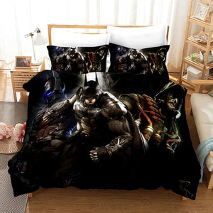 Batman #5 Duvet Cover Quilt Cover Pillowcase Bedding Set Bed Linen Home Bedroom Decor