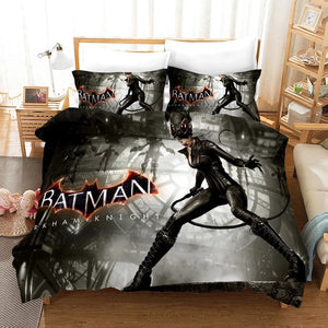 Batman #1 Duvet Cover Quilt Cover Pillowcase Bedding Set Bed Linen Home Bedroom Decor