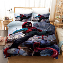 Load image into Gallery viewer, Venom Miles Morales #14 Duvet Cover Quilt Cover Pillowcase Bedding Set Bed Linen Home Decor