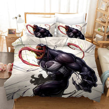 Load image into Gallery viewer, Venom Spiderman #16 Duvet Cover Quilt Cover Pillowcase Bedding Set Bed Linen Home Decor
