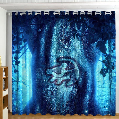 The Lion King Simba #4 Blackout Curtains For Window Treatment Set For Living Room Bedroom