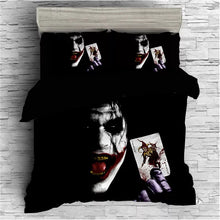 Load image into Gallery viewer, The Dark Knight Batman Joker Clown #3 Duvet Cover Quilt Cover Pillowcase Bedding Set Bed Linen Home Bedroom Decor