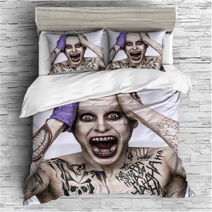 The Dark Knight Batman Joker Clown #4 Duvet Cover Quilt Cover Pillowcase Bedding Set Bed Linen Home Bedroom Decor