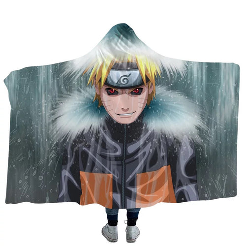 Anime Naruto Uchiha Sasuke Uzumaki Naruto #1 Blanket Super Soft Cozy Sherpa Fleece Throw Blanket for Men Boys