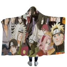 Load image into Gallery viewer, Anime Naruto Uchiha Sasuke Uzumaki Naruto #10 Blanket Super Soft Cozy Sherpa Fleece Throw Blanket for Men Boys
