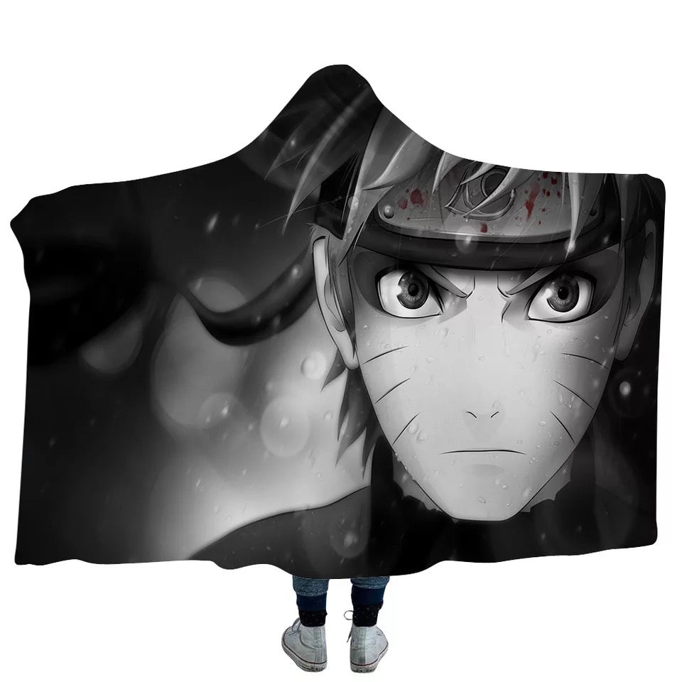 Anime Naruto Uchiha Sasuke Uzumaki Naruto #16 Blanket Super Soft Cozy Sherpa Fleece Throw Blanket for Men Boys