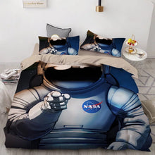 Load image into Gallery viewer, NASA Space #6 Duvet Cover Quilt Cover Pillowcase Bedding Set Bed Linen