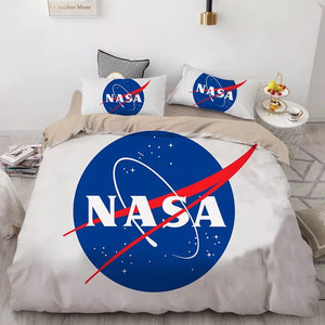 NASA Space #8 Duvet Cover Quilt Cover Pillowcase Bedding Set Bed Linen