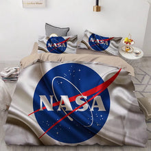 Load image into Gallery viewer, NASA Space #9 Duvet Cover Quilt Cover Pillowcase Bedding Set Bed Linen