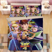 Load image into Gallery viewer, Toy Story Woody Forky #5 Duvet Cover Quilt Cover Pillowcase Bedding Set Bed Linen Home Bedroom Decor