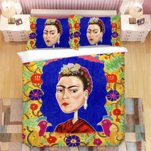 Load image into Gallery viewer, Frida Kahlo #8 Duvet Cover Quilt Cover Pillowcase Bedding Set Bed Linen Home Bedroom Decor