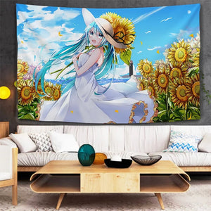 Hatsune Miku #25 Wall Decor Hanging Tapestry Home Bedroom Living Room Decoration