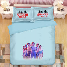 Load image into Gallery viewer, Stranger Things #33 Duvet Cover Quilt Cover Pillowcase Bedding Set Bed Linen Home Bedroom Decor