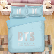 Load image into Gallery viewer, Kpop BTS Bangtan Boys Army A.R.M.Y  #26 Duvet Cover Quilt Cover Pillowcase Bedding Set Bed Linen Home Bedroom Decor
