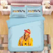 Load image into Gallery viewer, Billie Eilish Bellyache #3 Duvet Cover Quilt Cover Pillowcase Bedding Set Bed Linen Home Decor