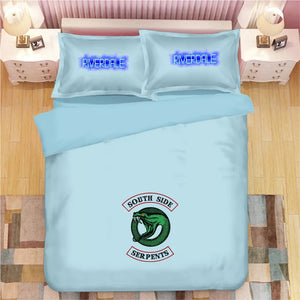 Riverdale South Side Serpents #12 Duvet Cover Quilt Cover Pillowcase Bedding Set Bed Linen