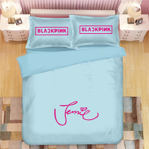 Kpop Blackpink #1 Duvet Cover Quilt Cover Pillowcase Bedding Set Bed Linen Home Decor