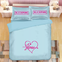 Load image into Gallery viewer, Kpop Blackpink #2 Duvet Cover Quilt Cover Pillowcase Bedding Set Bed Linen Home Decor