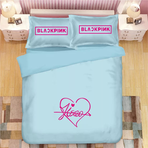 Kpop Blackpink #2 Duvet Cover Quilt Cover Pillowcase Bedding Set Bed Linen Home Decor