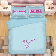 Load image into Gallery viewer, Kpop Blackpink #5 Duvet Cover Quilt Cover Pillowcase Bedding Set Bed Linen Home Decor