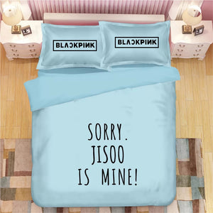 Kpop Blackpink #9 Duvet Cover Quilt Cover Pillowcase Bedding Set Bed Linen Home Decor