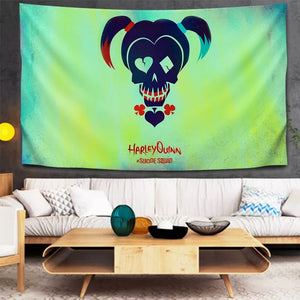 Suicide Squad Harley Quinn #10 Wall Decor Hanging Tapestry Home Bedroom Living Room Decoration