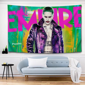 Suicide Squad Harley Quinn #12 Wall Decor Hanging Tapestry Home Bedroom Living Room Decoration