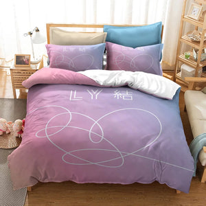 Kpop BTS Bangtan Boys Army A.R.M.Y  #15 Duvet Cover Quilt Cover Pillowcase Bedding Set Bed Linen Home Decor