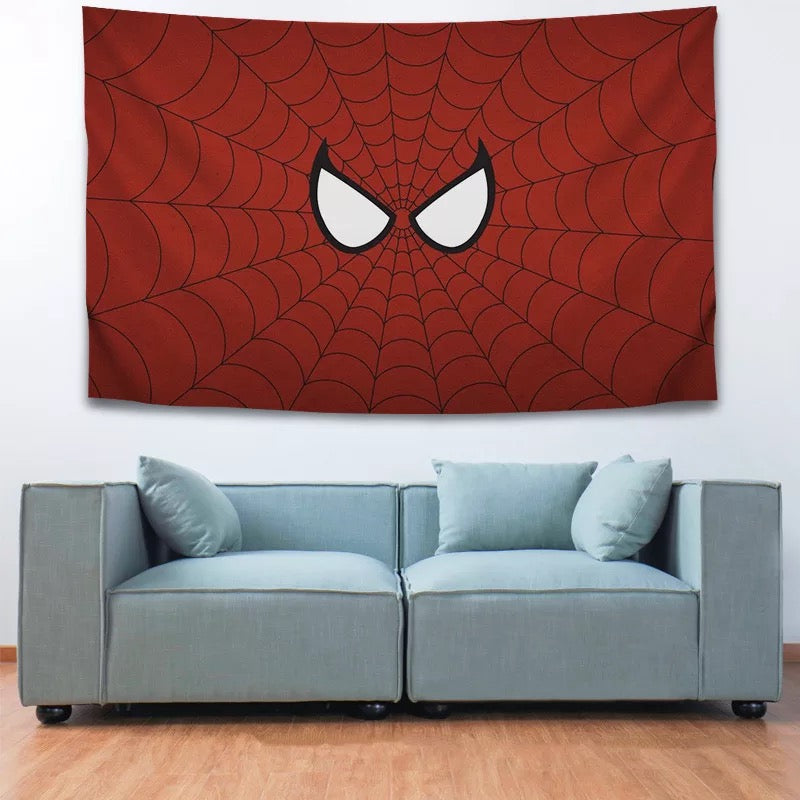 Spider Man Far From Home Peter Parker #21 Wall Decor Hanging Tapestry Home Bedroom Living Room Decoration