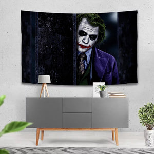Joker Arthur Fleck Clown #23 Wall Decor Hanging Tapestry Home Bedroom Living Room Decoration